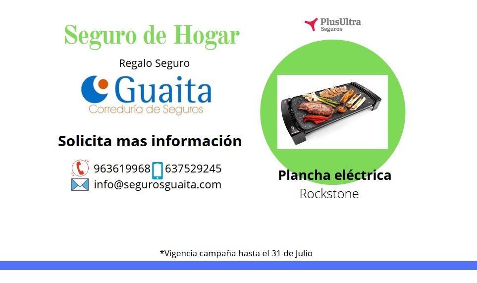 Imagen Campaña Hogar seguros guaita plancha eléctrica